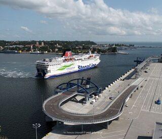 terminal promowy w Porcie Gdynia