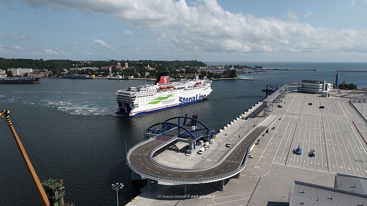 Publiczny Terminal Promowy w Porcie Gdynia
